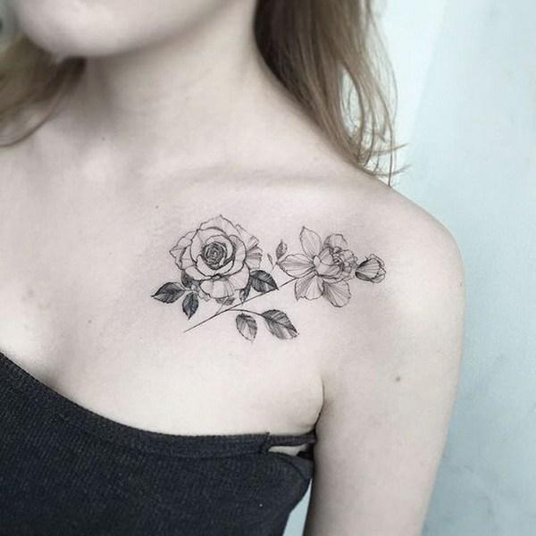 50 Imperdibili Tatuaggi Con I Fiori Per Il 2017 Date Un