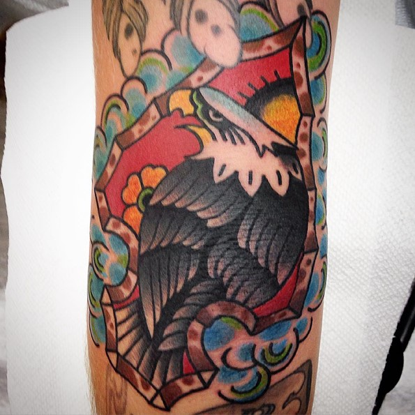 arrowhead-eagle-tattoo-on-elbow