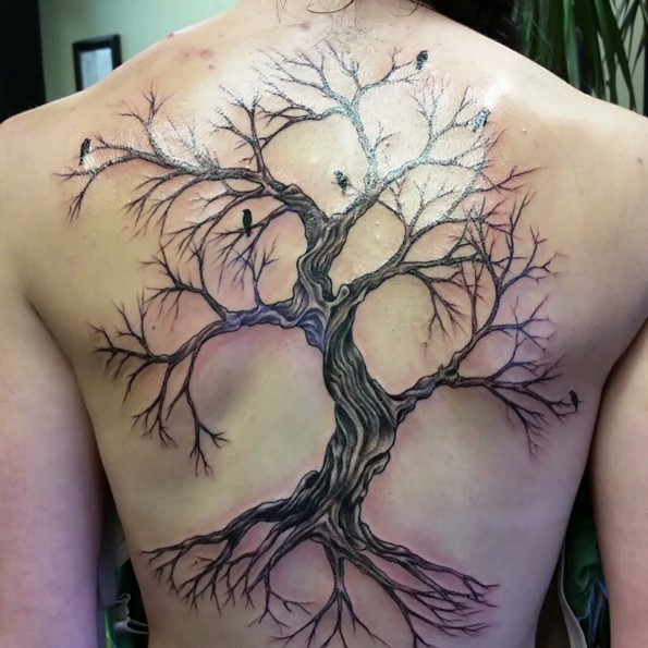 birds-and-tree-free-hand-tattoo