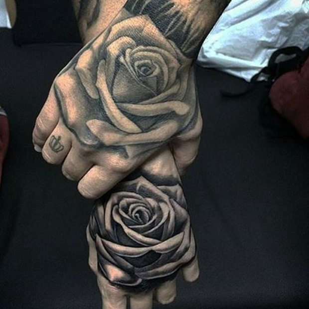 black,rose,tattoo,27