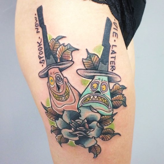 nightmare-before-christmas-tattoos-designs-1