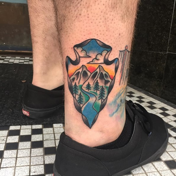 arrowhead-mountain-tattoo