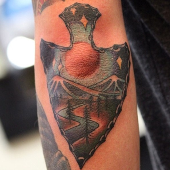 arrowhead-tattoo-pictures