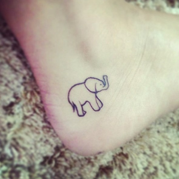 baby-elephant-angkle-tattoos