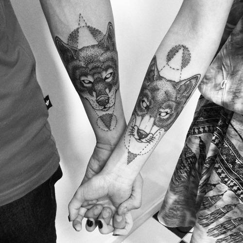 best-matching-fox-tattoo-designs