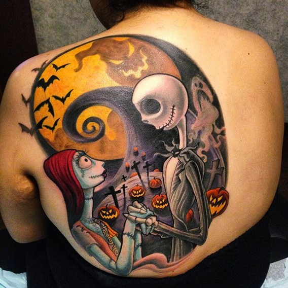 best-nightmare-before-christmas-tattoos