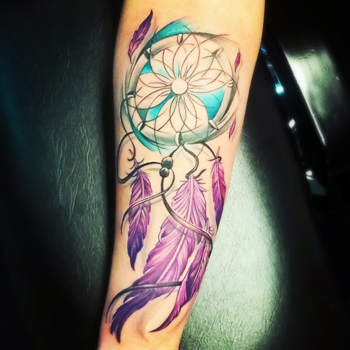 colorful-dream-catcher-tattoo-16