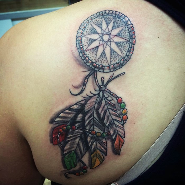 colorful-dream-catcher-tattoo-17
