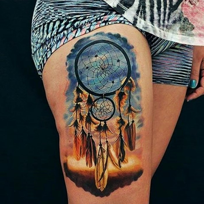 colorful-dream-catcher-tattoo-20