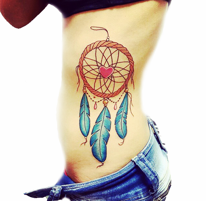 colorful-dream-catcher-tattoo-24