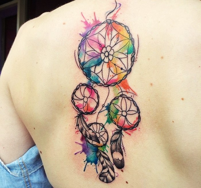 colorful-dream-catcher-tattoo-4