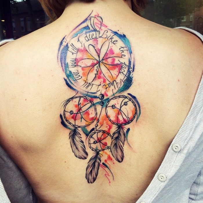 colorful-dream-catcher-tattoo-7