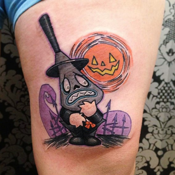 halloween-nightmare-before-christmas-tattoos