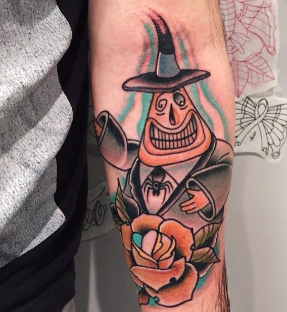 mayor-of-halloweentown-nightmare-before-christmas-tattoos