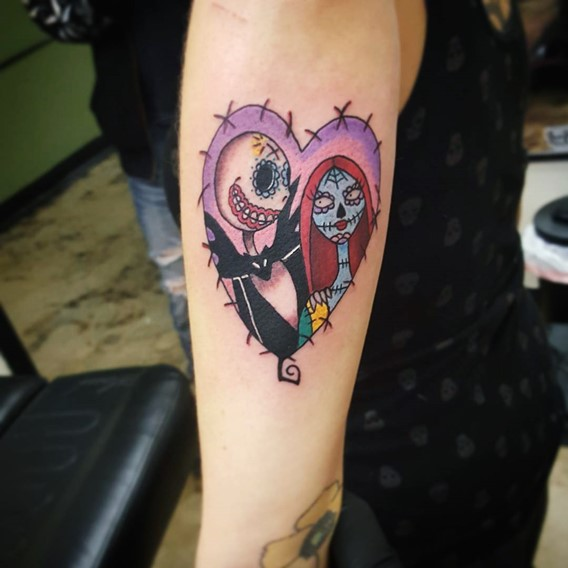 nightmare-before-christmas-love-tattoos