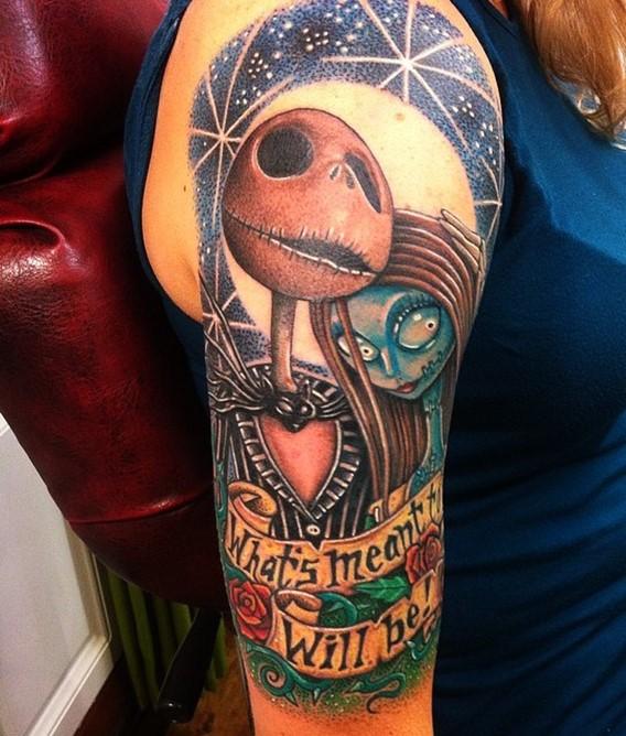 nightmare-before-christmas-tattoo-drawings