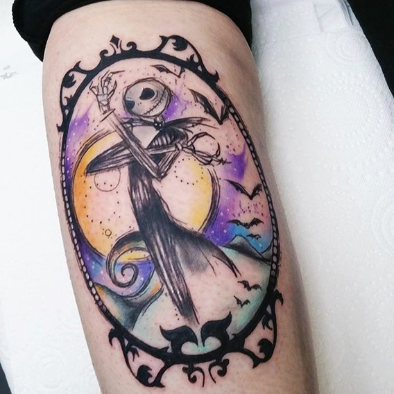 tattoos-of-jack-from-nightmare-before-christmas
