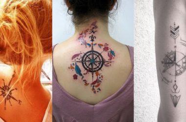 tatuaggi bussola