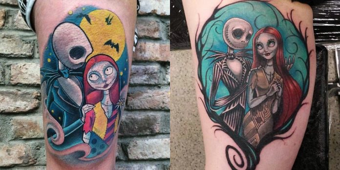 tatuaggi da Nightmare Before Christmas