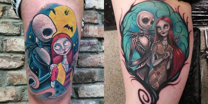 tatuaggi da Nightmare Before Christmas