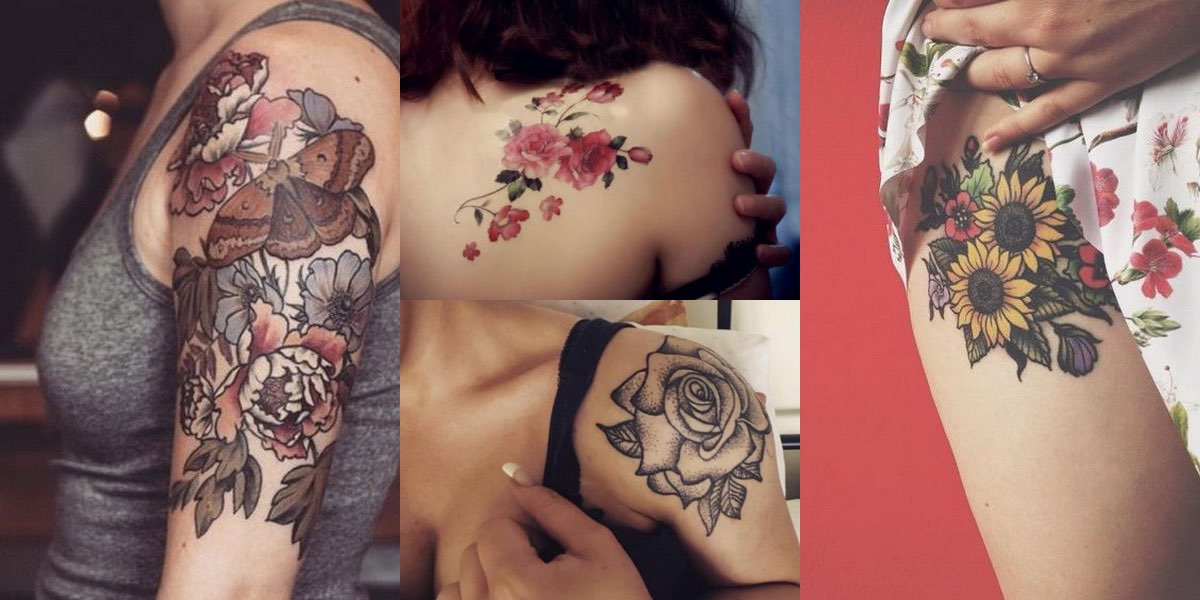50 imperdibili tatuaggi con i fiori per il 2017: Date un occhiata alle foto!