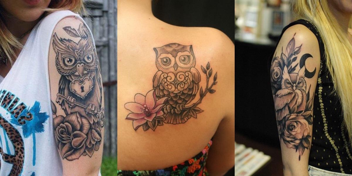 35 tatuaggi con il gufo da cui prendere ispirazione