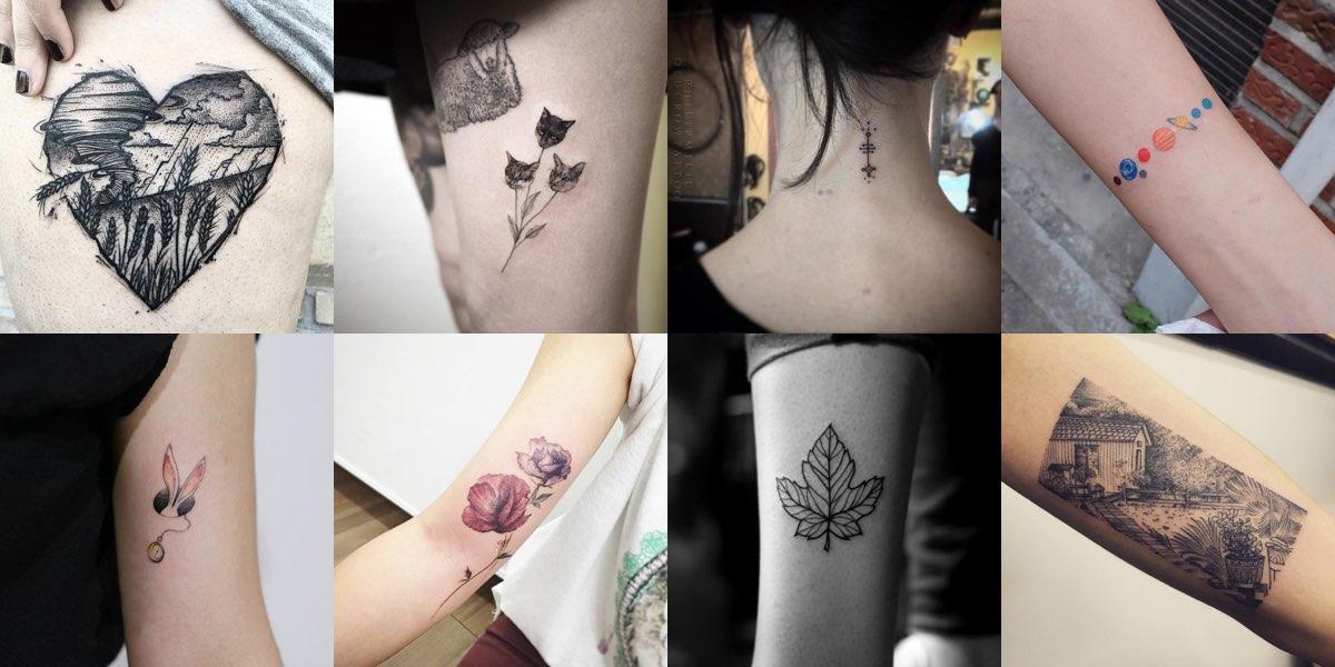 50 meravigliose idee di tatuaggi per donne! By. RobertoRossi. 376. Facebook