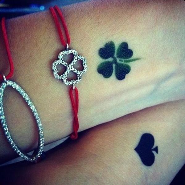 Four Leaf Clover Tattoos 251 Tatuaggistyle It