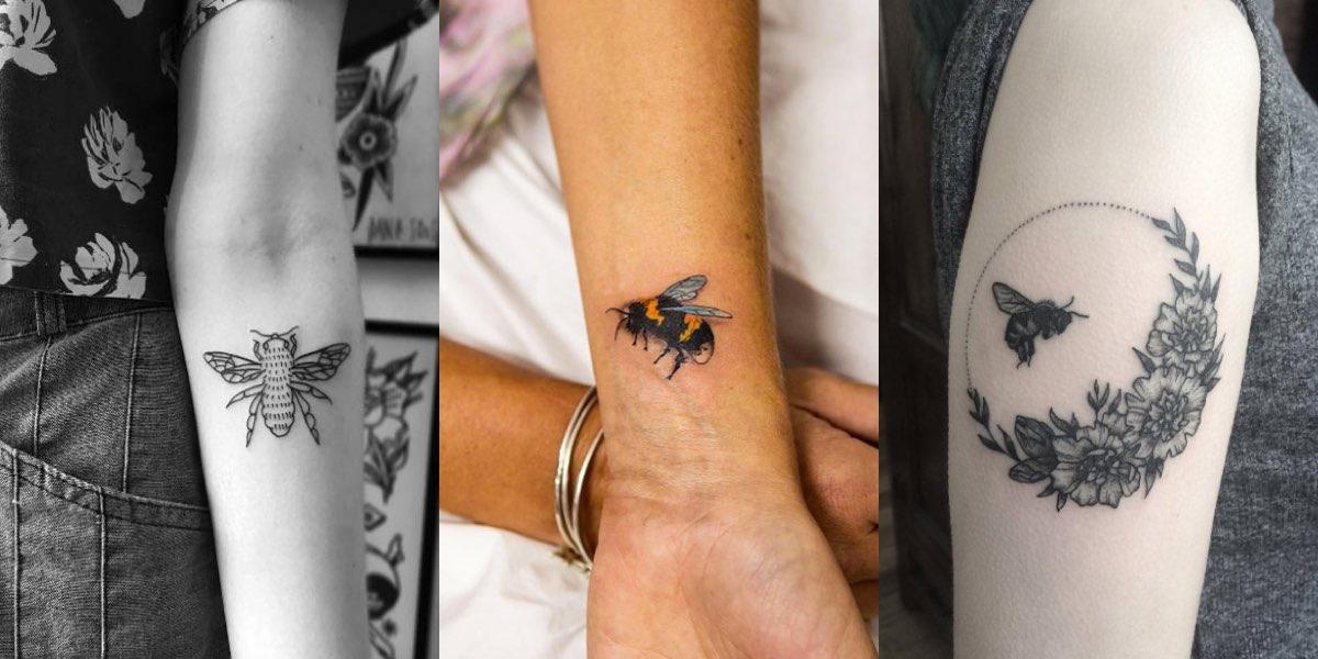 40 meravigliosi tatuaggi con l'ape! Fateci sapere la vostra opinione!