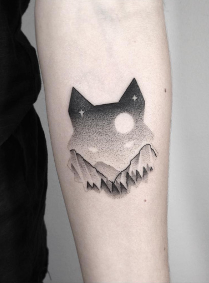 landscape-animal-tattoo