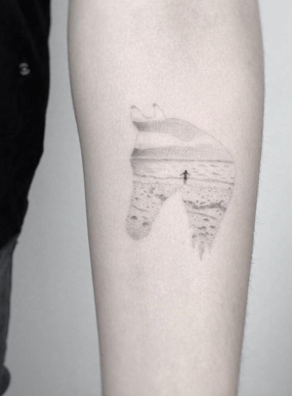 landscape-beach-scene-tattoo