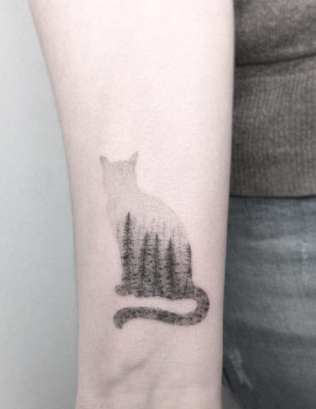 landscape-cat-tattoo