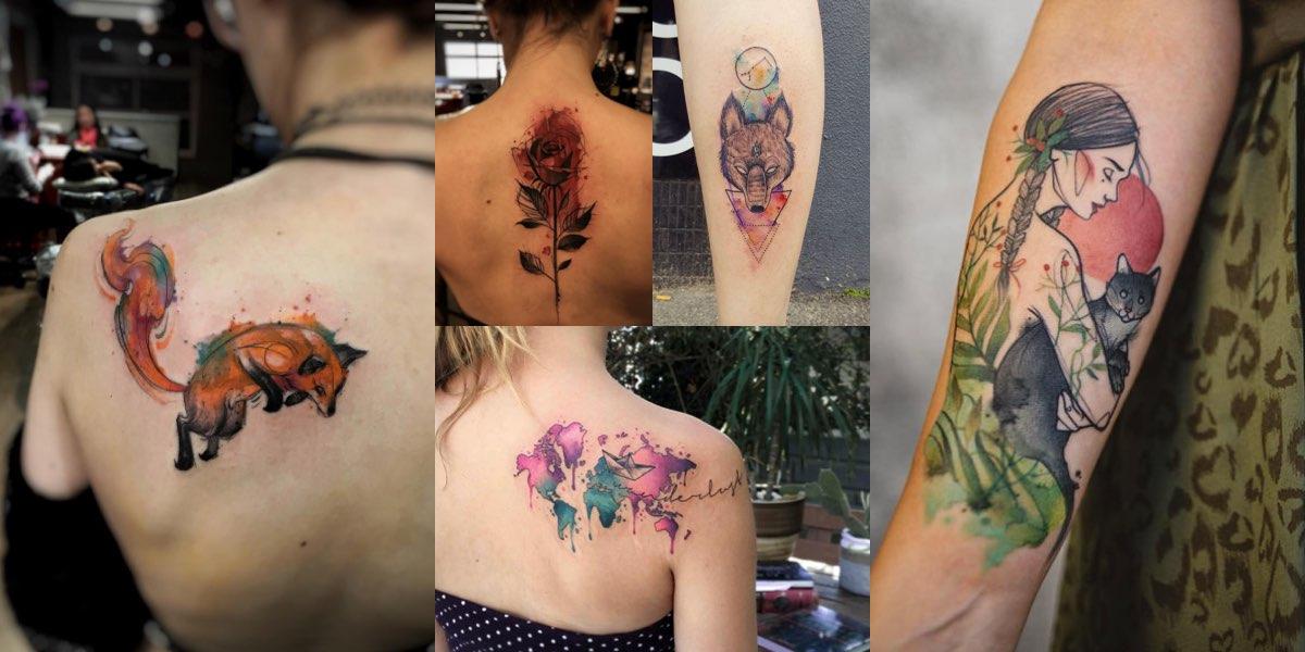 tatuaggi-acquarelli