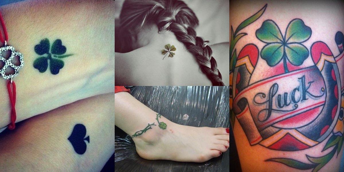 tatuaggi-quadrifoglio