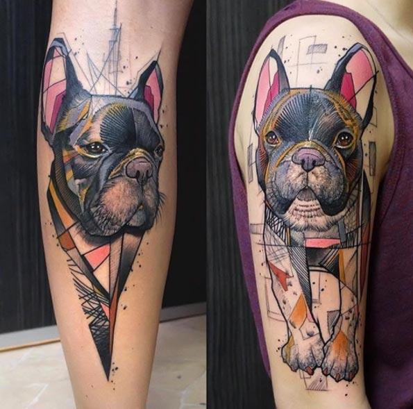 abstract-dog-tattoo