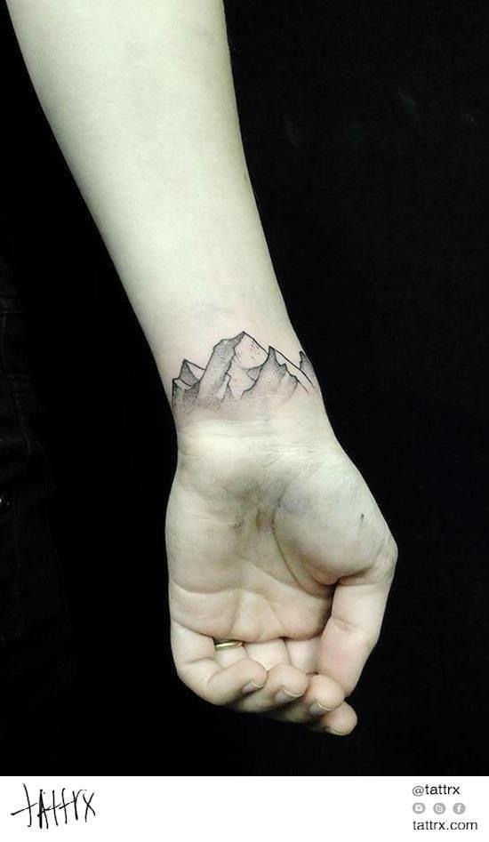 tatuagem-montanhas