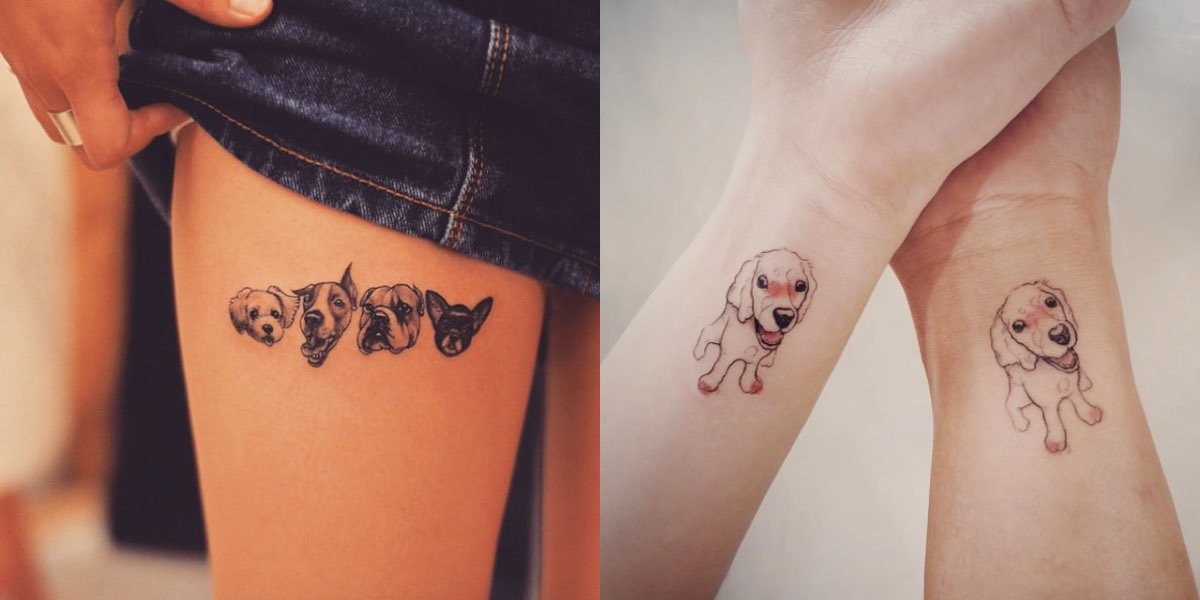 Frasi Sui Cani Da Tatuare.40 Tatuaggi Che Gli Amanti Dei Cani Adoreranno
