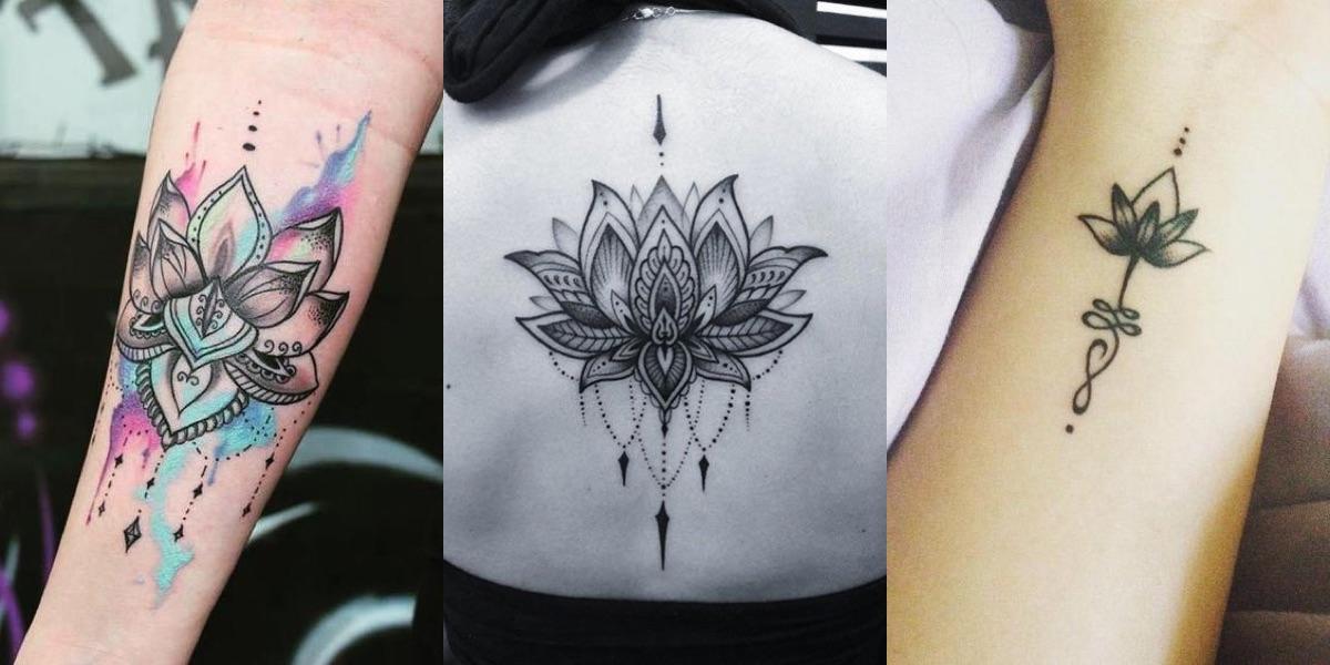 Tatuaggi Fior Di Loto Significato E Tante Foto