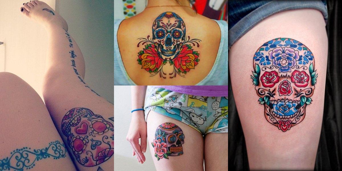 40 tatuaggi con il teschio e i loro significati!