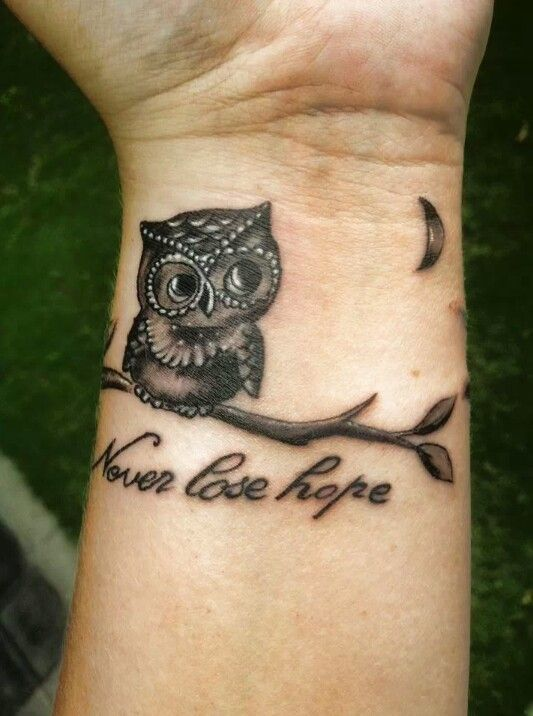 Eccezionale Tatuaggio con gufi, modelli tra cui scegliere e i loro significati! UU41