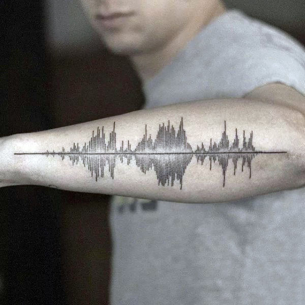 cool-outer-forearm-male-soundwave-tattoos