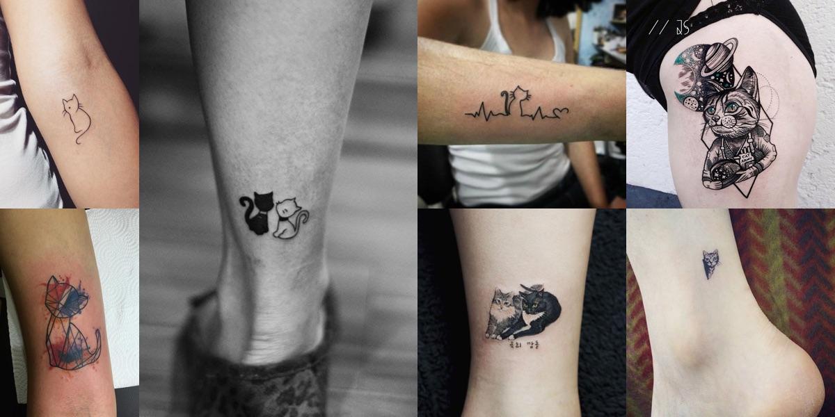 Tatuaggi con gatti, tante foto e i significati di una scelta super gettonata!