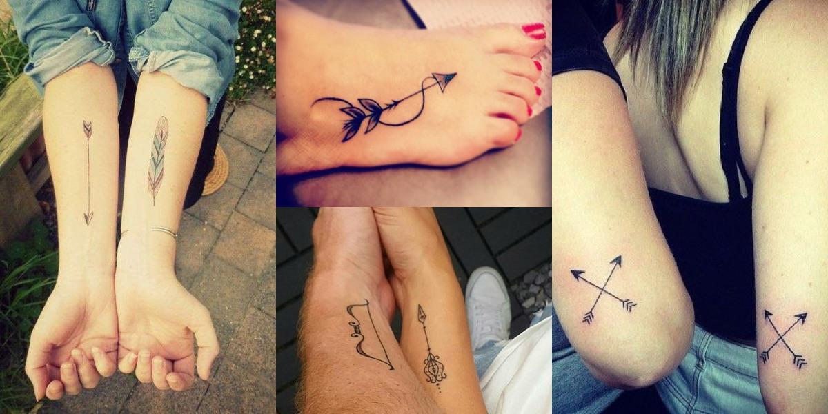 La freccia indiana è un elemento frequentemente riscontrabile nei tatuaggi  di tutto il mondo, Italia compresa. Merito della forte caratterizzazione di