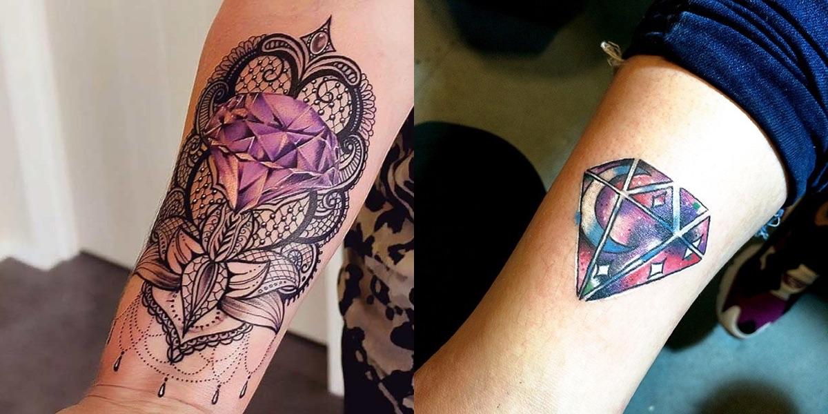 tatuaggi diamante