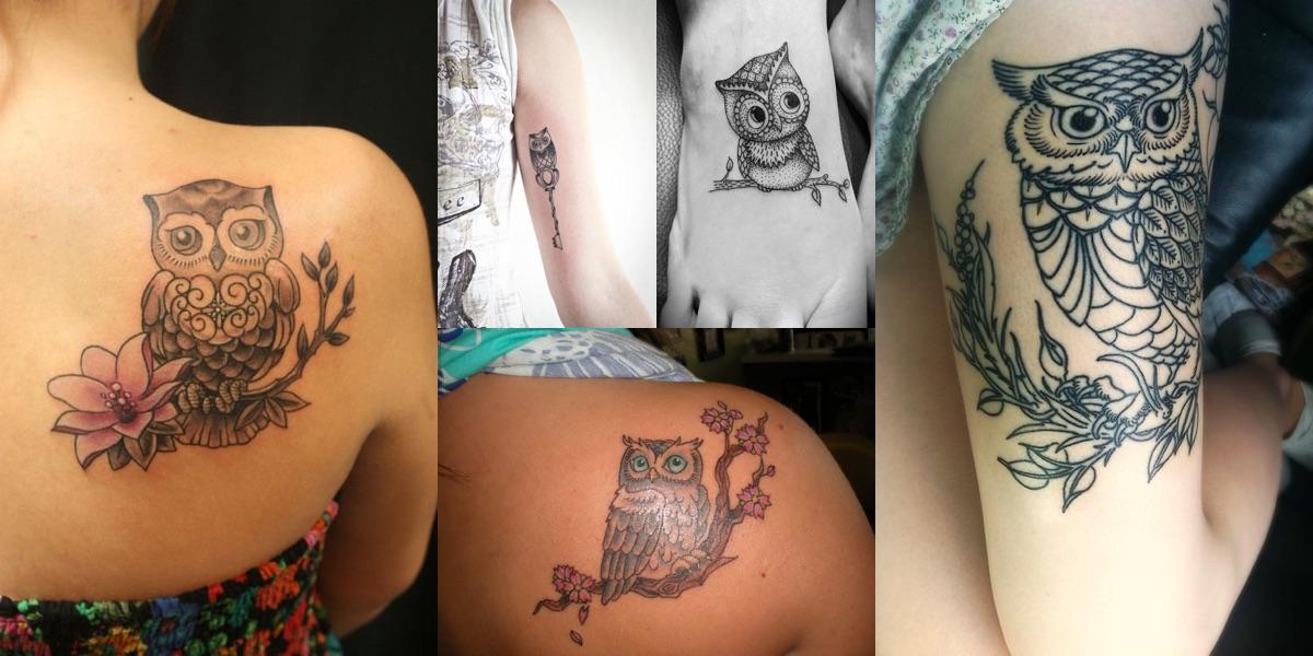 tatuaggi gufo