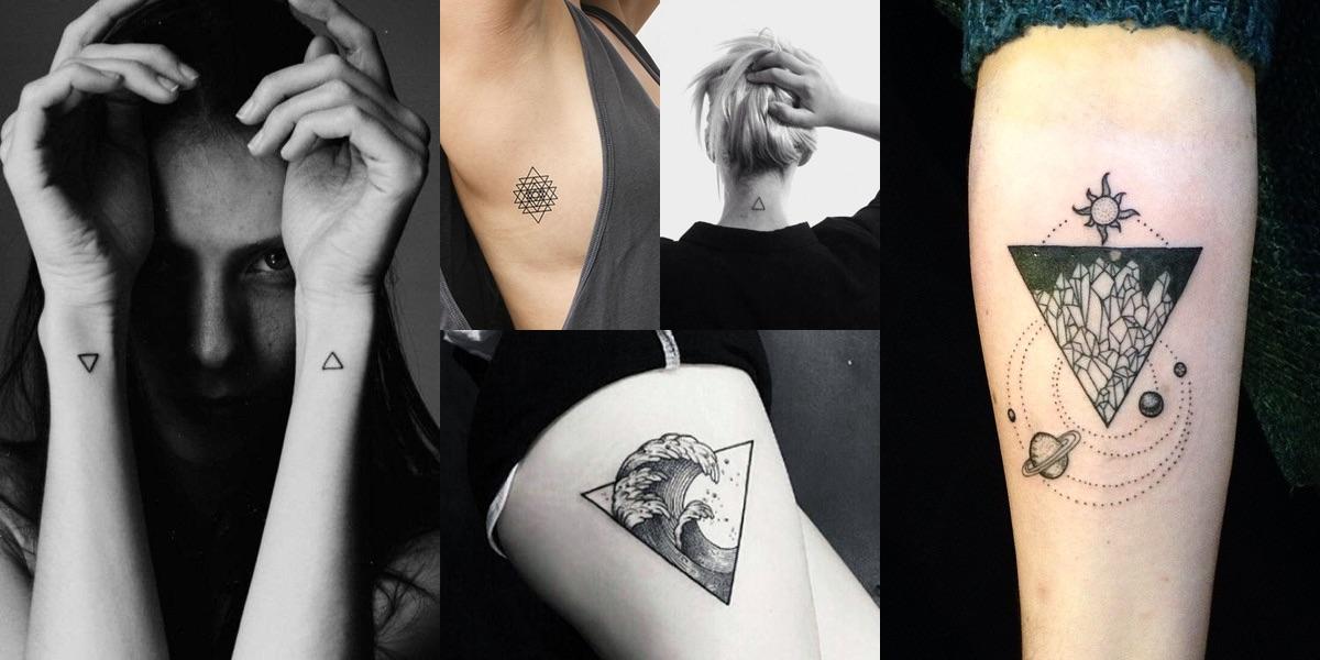tatuaggio triangolo