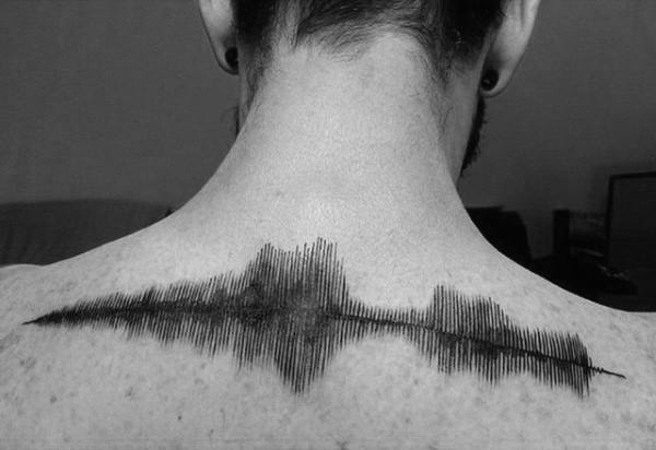 upper-back-soundwave-tattoos-for-guys