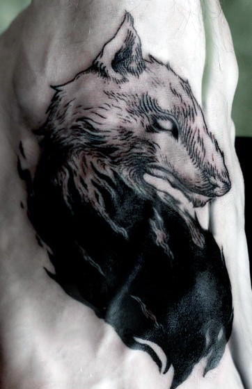 wolf-pack-tattoos-for-men
