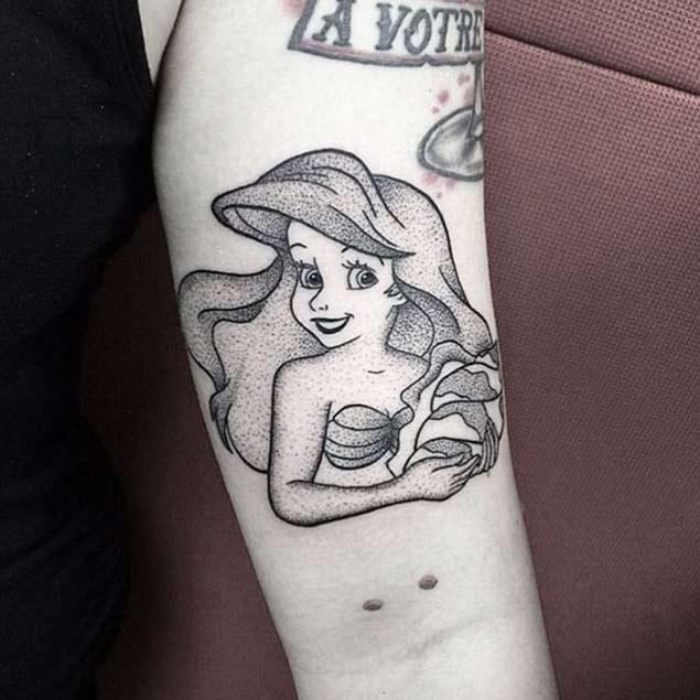 areil-tattoo-little-mermai