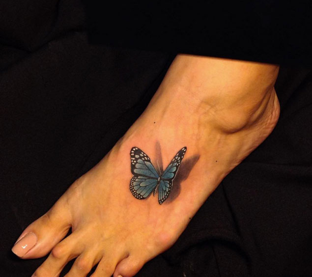 butterfly-tattoo-foot